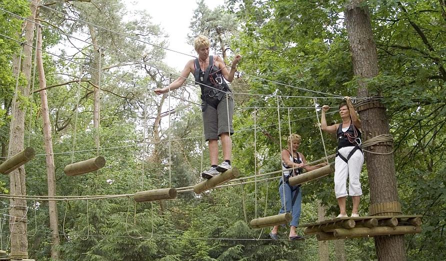 Bedrijfsuitje Twente High Rope Parcours