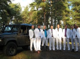 Land Rover Bachelorparty
