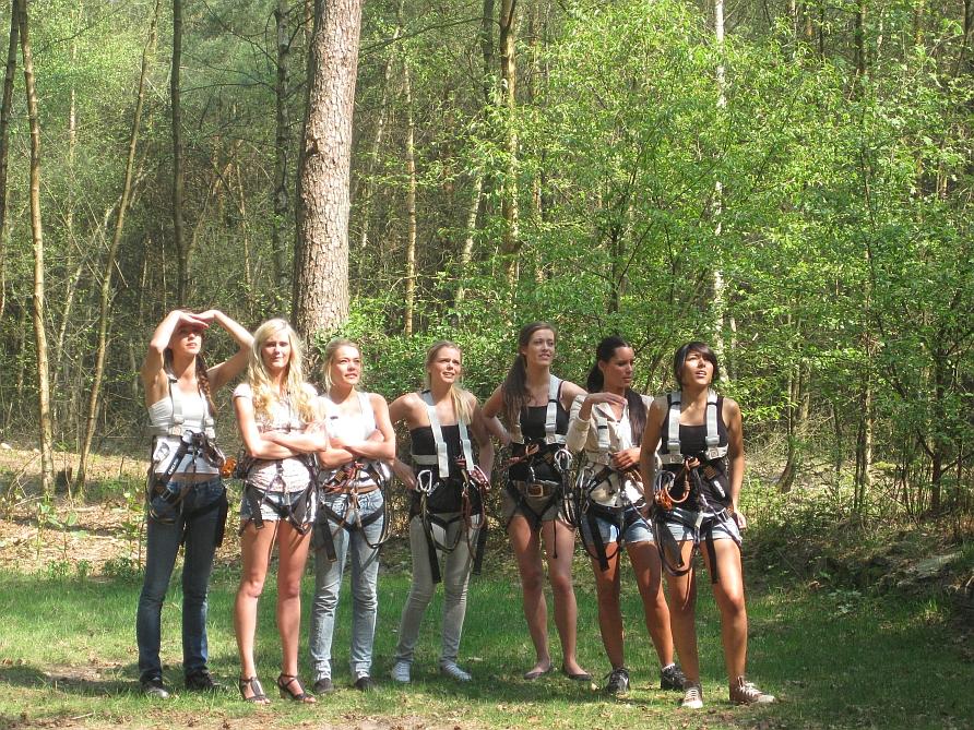 Vrijgezellenfeestje Twente klimbos