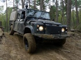 Bedrijfsuitje Land Rover