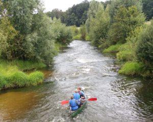 Werkweek Ardennen kano Vechte