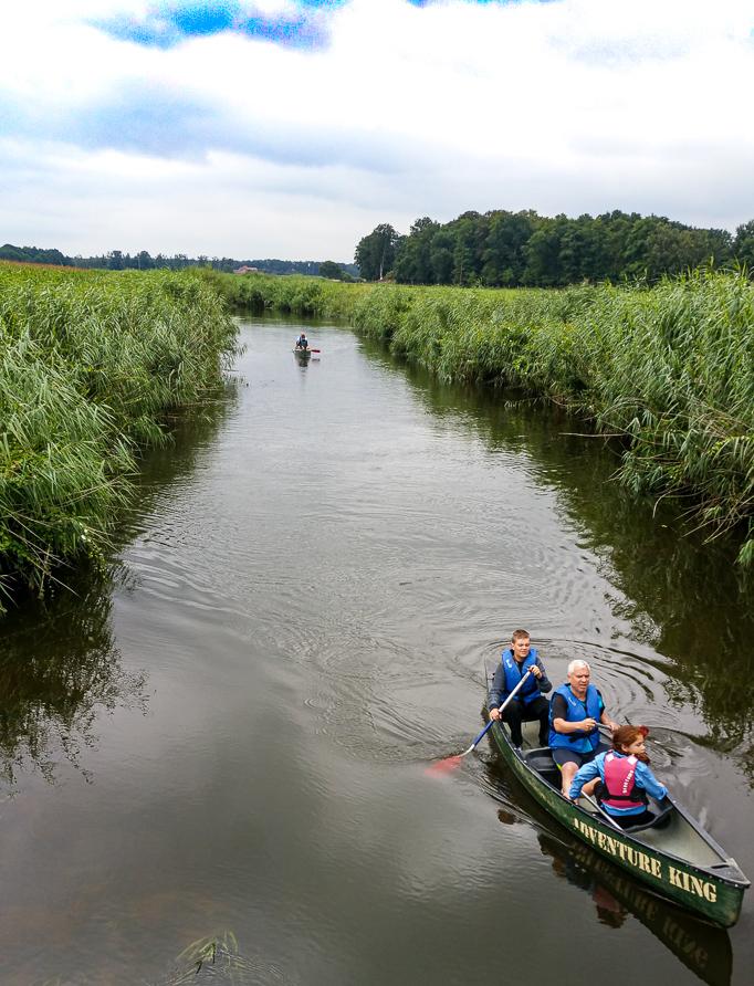 Schoolreisje in Twente, kanoocht